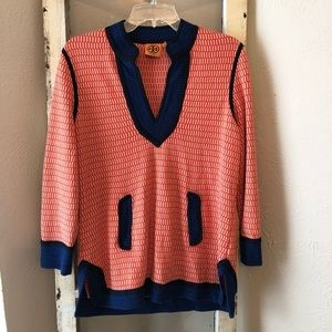 Tory Burch Tunic Sweater Size Large